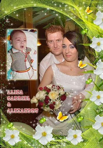 Alina - Gabriel si Alexanreu Gabriel