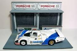 PORSCHE 956C DANONE Le Mans 1986