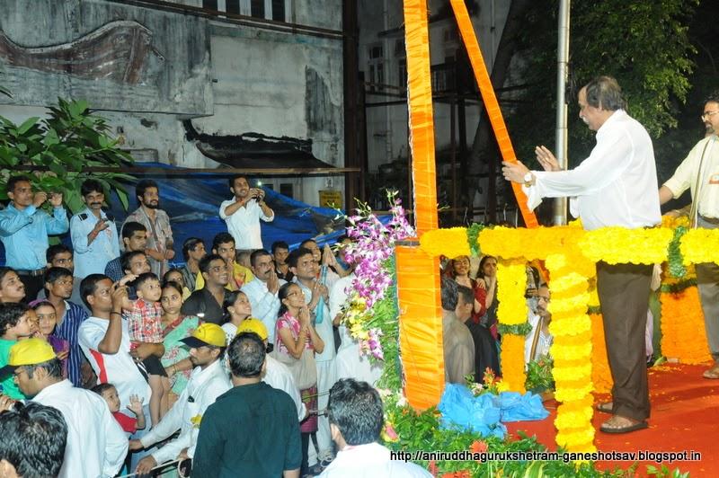 Ganesh Utsav, Ganpati Mirvanuk, Punarmilap Mirvanuk, Ganpati Bappa Morya, AniruddhaBapu-Ganeshotsav
