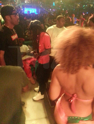 fotos de lil wayne en el king of diamonds