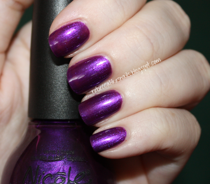 rebecca likes nails: Nicole by OPI swatch spam!