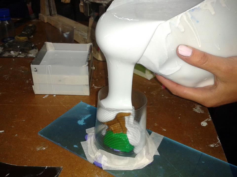 Procesos de conformacion y deformacion moldes caucho for Caucho de silicona