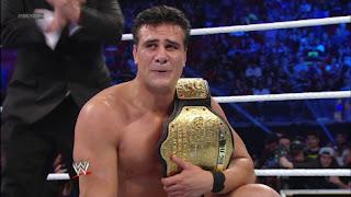 LUCHA LIBRE-Alberto del Río se convierte en nuevo campeón de los Pesos Pesados de la WWE