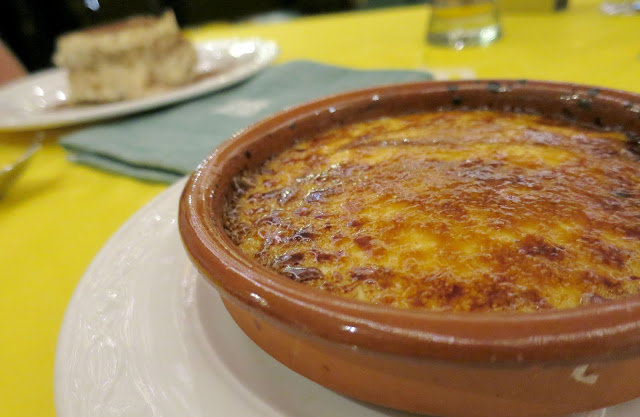 Marbella Spain Summer Holiday Food Dessert Creme Brulee Italian