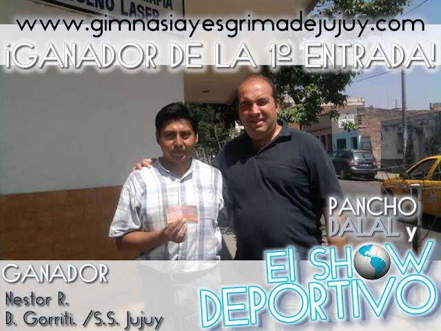 Pancho Dalal: Relator de Gimnasia de Jujuy