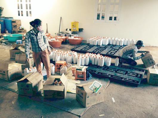 """Gia Lai: Liên tiếp phát hiện các cơ sở sản xuất phân bón """"lậu"""""""