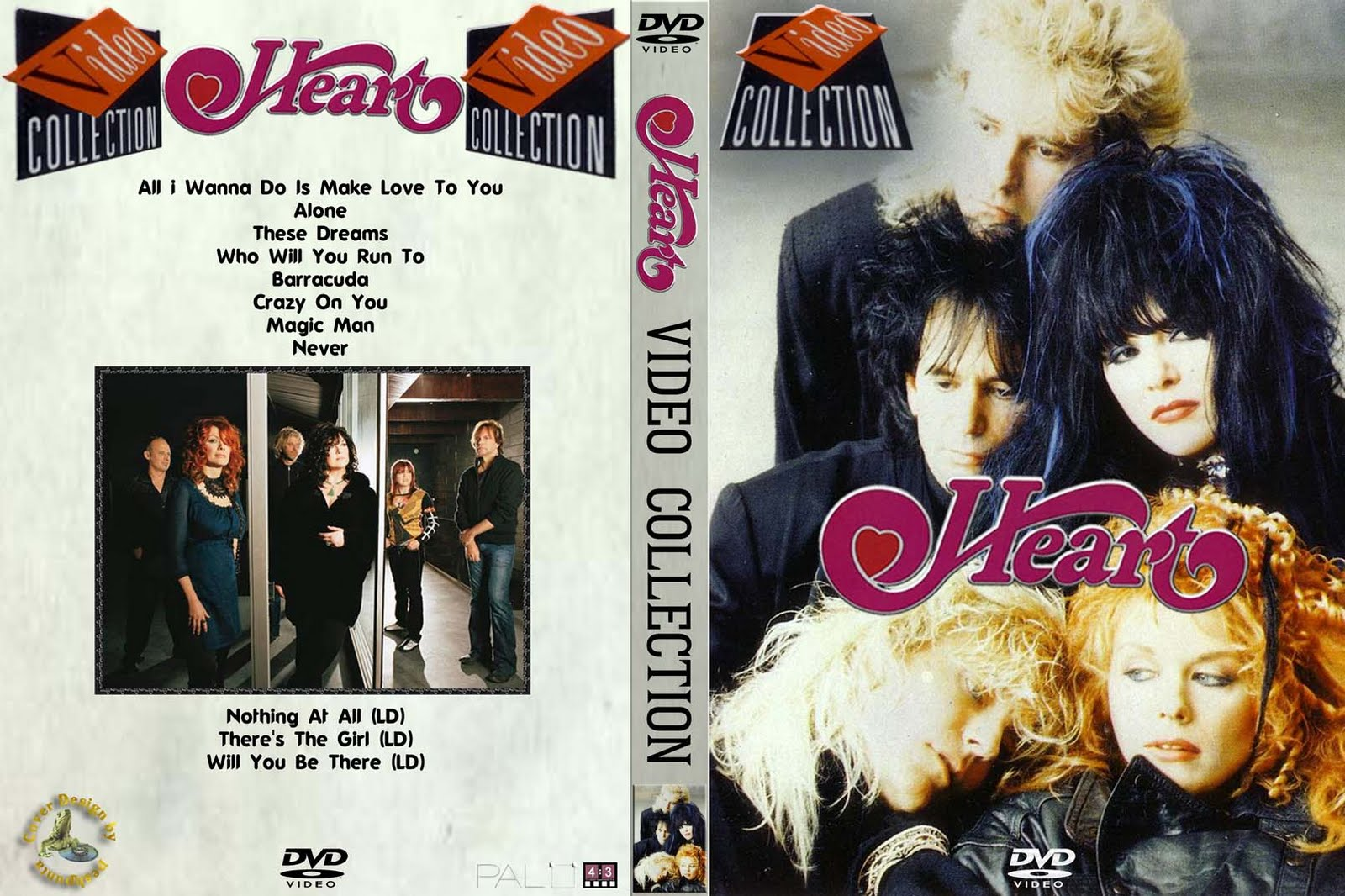 Heart - Video Collection (2oo9) (DVD5/PAL/pro-shot)
