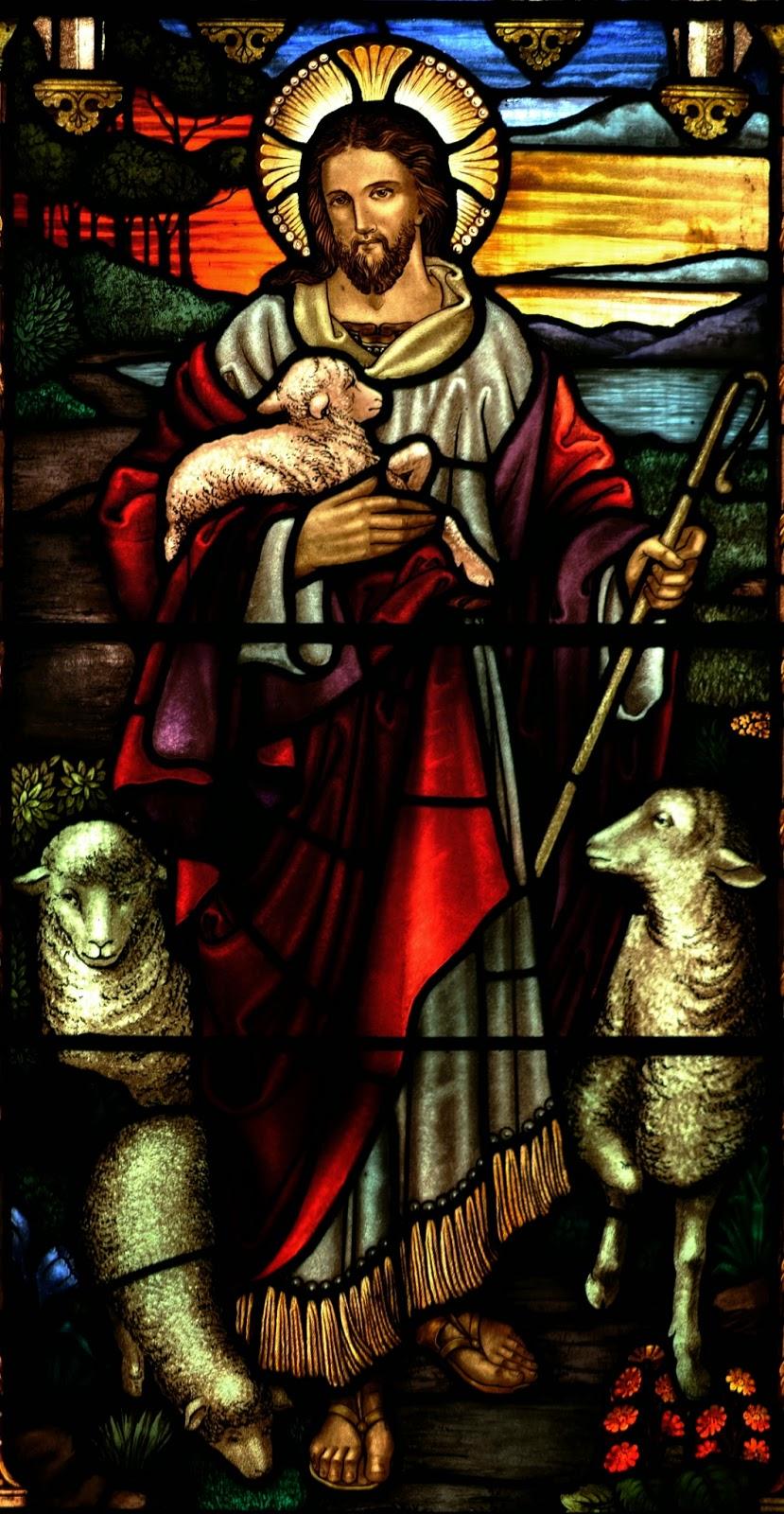 Prières à Jesus miséricordieux, le bon berger