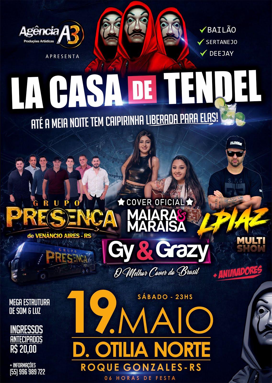 19/05 - LA CASA DE TENDEL