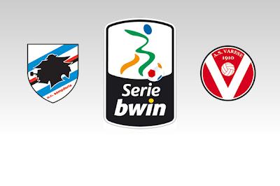 Sampdoria-Varese streaming 6 Giugno