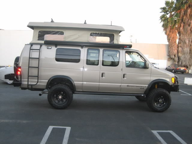 Off-Road RV Vans