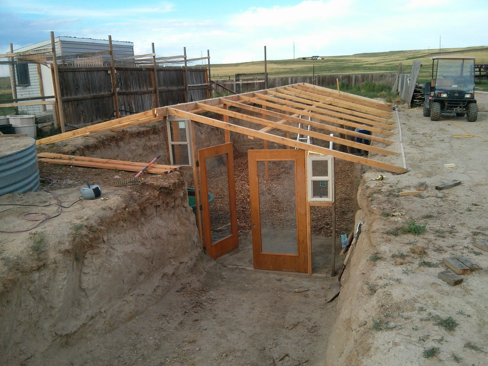 Walipini and aquaponics into new territory for Greenhouse plans