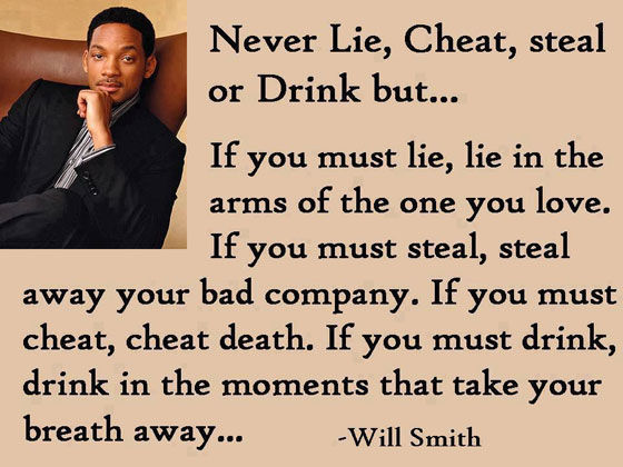 Will Smith Inspirational Quote