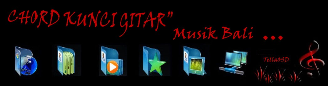 Chord Kunci Gitar` Musik Bali Dan Tips Ngeblog | Chord Kunci Gitar