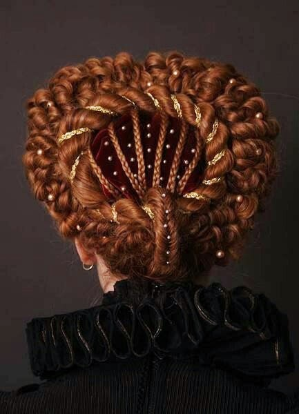 The Journey Elizabethan Hair Styles