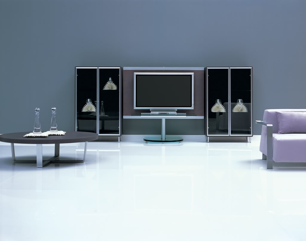 Lcd tv cabinets designs ideas an interior design - Modern tv interior design ...