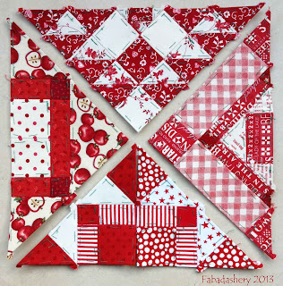 Nearly Insane Quilt Edge and Corner Blocks