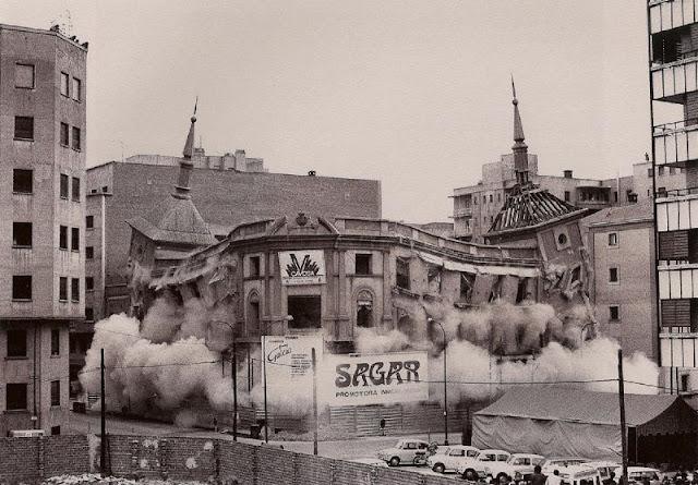 Demolicion, Madrid