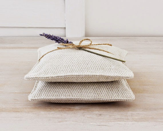 cotton sewed lavender gift sachets