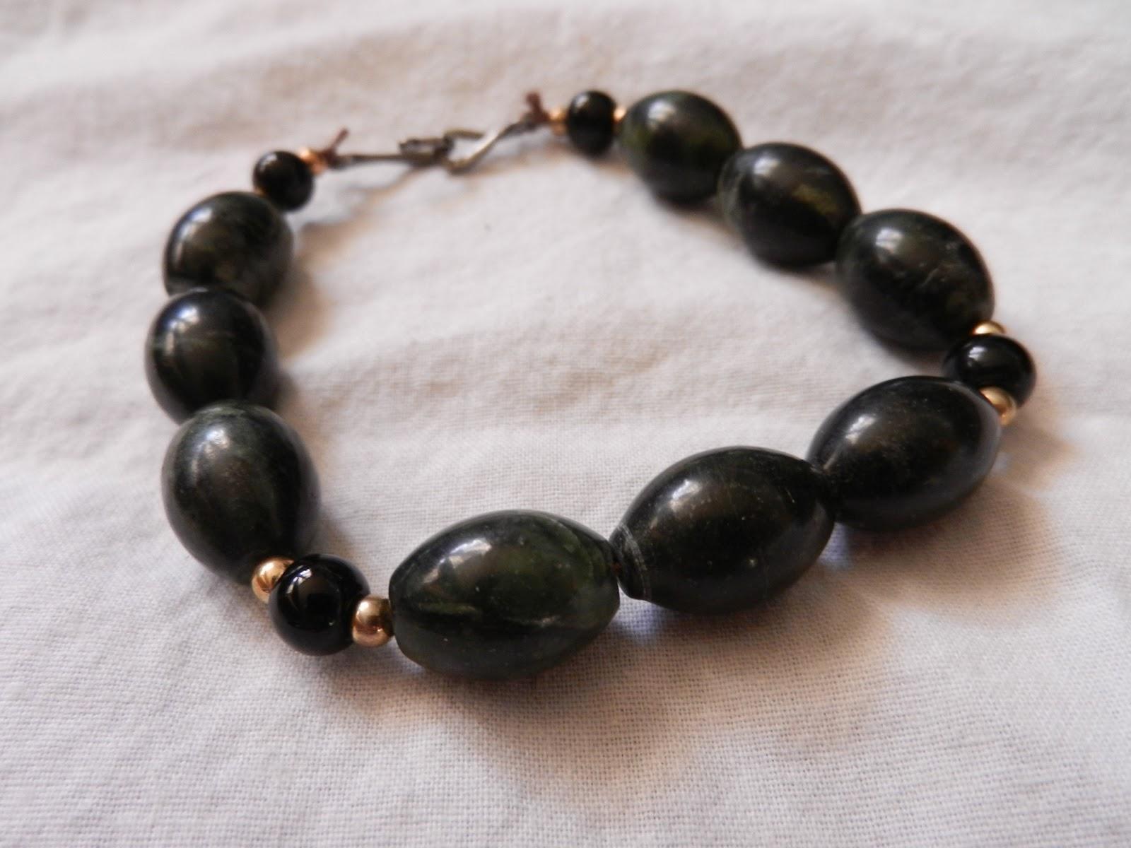 serpentine bead bracelet