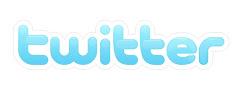 Puedes seguirme en Twitter. Pincha en el logo