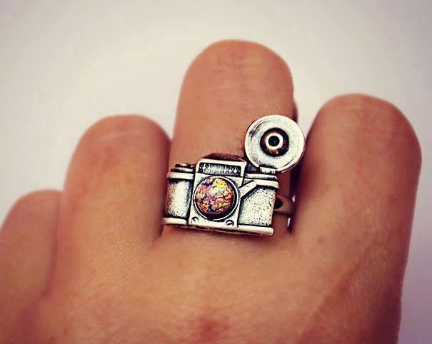 cincin bentuk kamera instagram