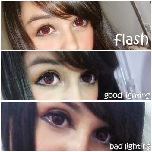 beuberry bb red colored contacts