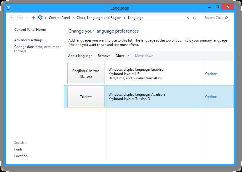 Как сделать windows 10 на русский язык