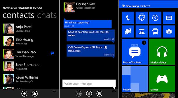 Chat rencontre windows phone
