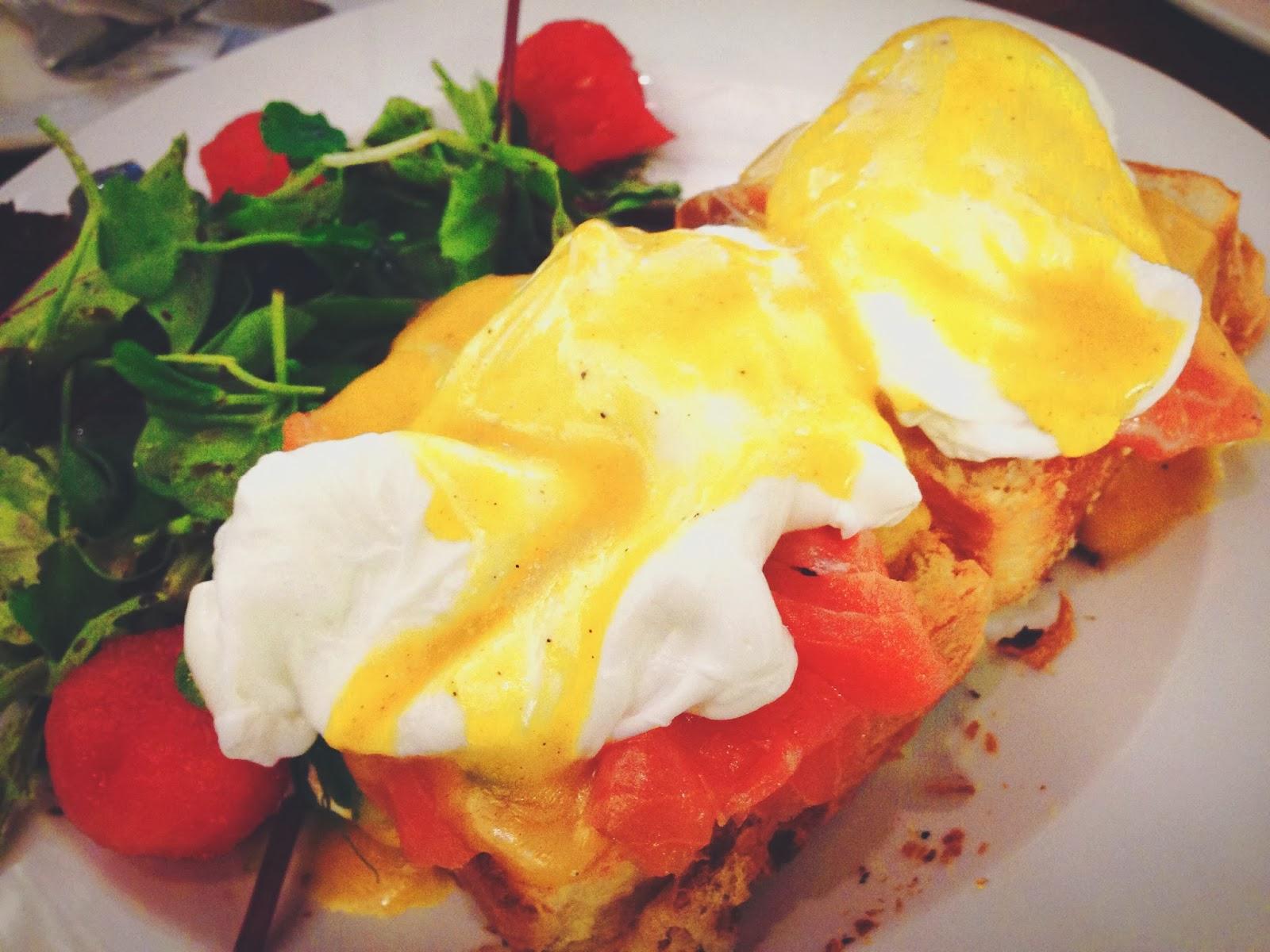 Maison Ikkoku Salmon Florentine All-Day Breakfast