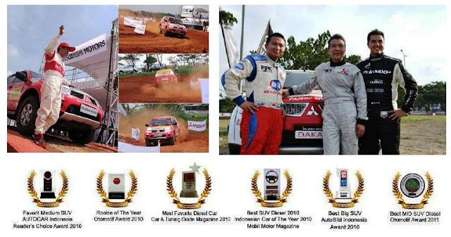 pembalap Mitsubishi Pajero Sport