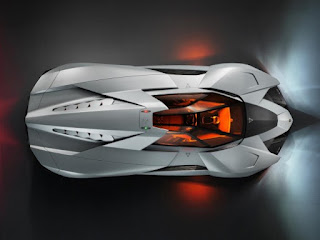Lamborghini Egoista Concept, supercar, race car, car