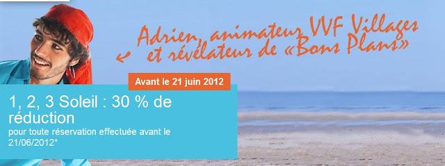 VVF Villages: jusqu'à 30% de réduction sur une sélection de destinations