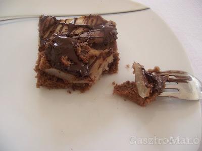 körtés csokis süti