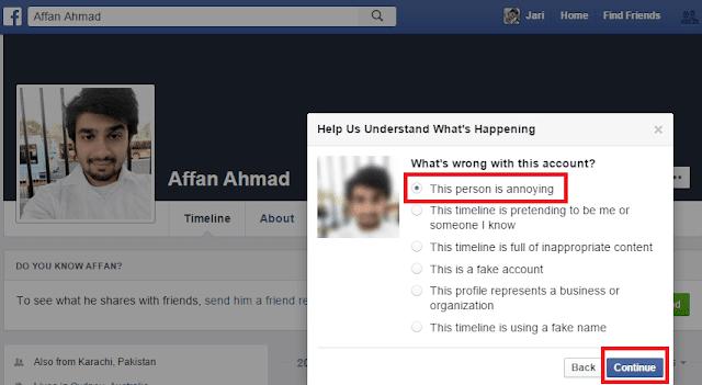 Report-Facebook-Account