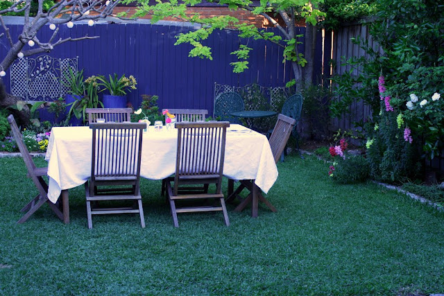 spring garden dining ideas