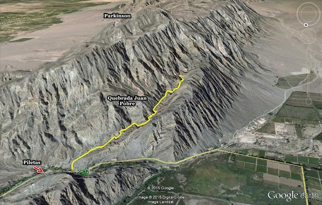 Circuito Zonda : Trekking san juan quebrada pobre el pequeño gran viaje