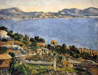 Paul Cézanne 'The Gulf of Marseille Seen from-L'Estaque' - Dreams and Reality Exhibition, National Museum of Singapore