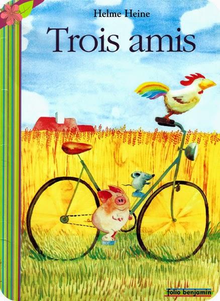"""""""Trois amis"""" de Helme Heine"""