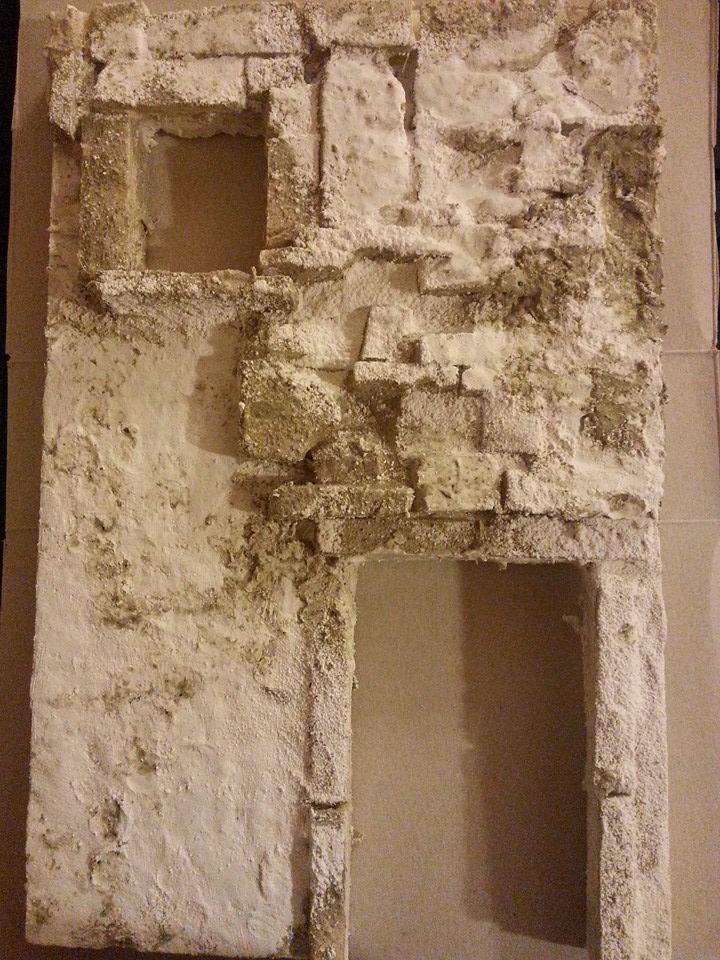 Come costruire un presepe con fogli di polistirolo new - Su di esso si esce da una porta finestra ...