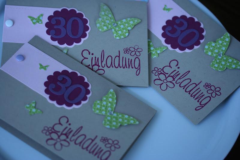 Schön Einladungskarten Zum 30 Geburtstag Selbst Gestalten #17: Einladungskarten  30 Geburtstag Selber Machen Sergegiachetti Com
