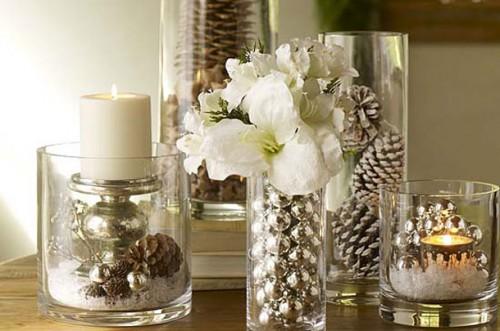 Decoraci n f cil centros de mesa para navidad - Decoracion de navidad para mesas ...