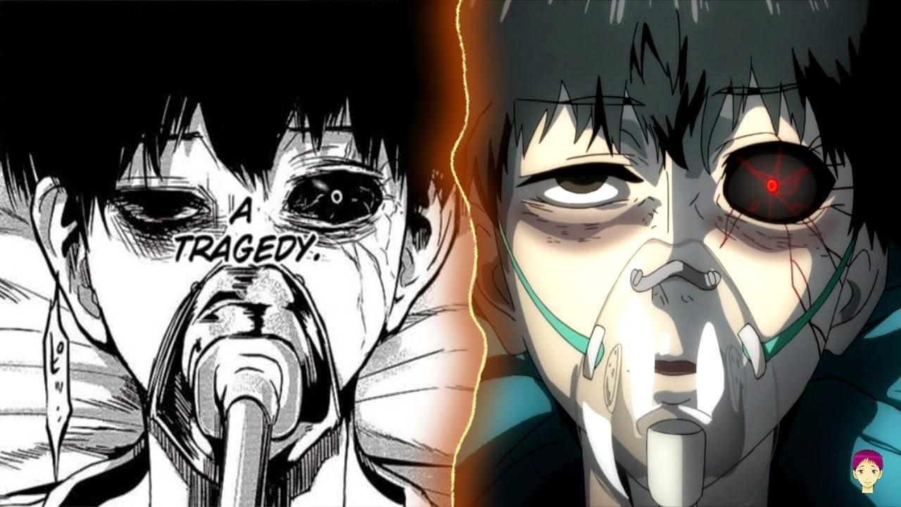 Manga vs Anime Tokyo Ghoul