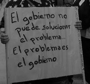 EL GOBIERNO NO ES LA SOLUCIÓN