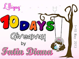 10 Days Giveaway by Fatin Diana