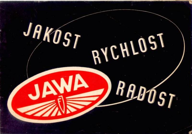 Plakat ze sloganem reklamowym Jawy