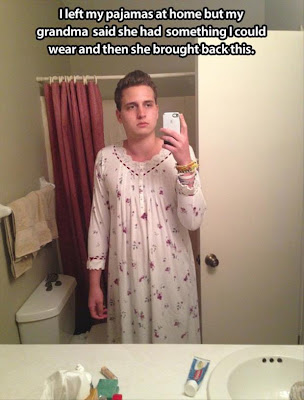 Pajamas Fail Photo