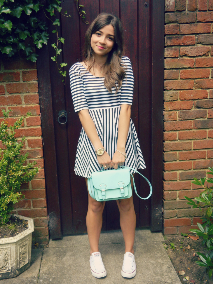 Love From Lisa Parisian Stripes, H&M Striped Dress