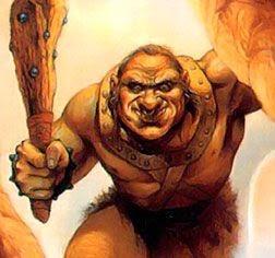 Un ogro es una criatura humanoide horrenda y fea de la mitología de muchos países. También se les suele mencionar en cuentos de hadas, en los que suelen alimentarse de personas, especialmente niños. Se les suele representar con una gran cabeza, mucho pelo hirsuto, normalmente barba abundante, abultada panza y cuerpo fornido.