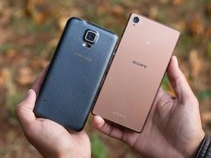 Perbandingan Spesifikasi Sony Xperia Z3 dengan Samsung Galaxy S5